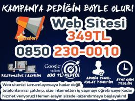 Web Sitesi Sadece 349TL!